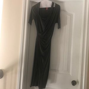 MAXMARA Mock wrap dress
